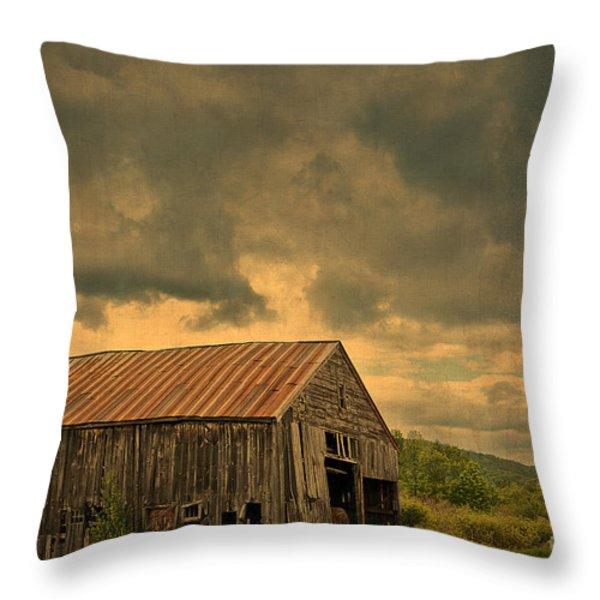 Still Standing Throw Pillow by Alana Ranney
