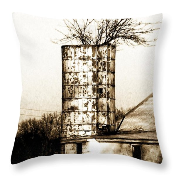Still Supporting Life Throw Pillow by Marcia Lee Jones