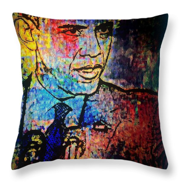 Still The One Throw Pillow by Wendie Busig-Kohn
