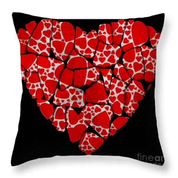 Stoned In Love Throw Pillow by Barbara Chichester