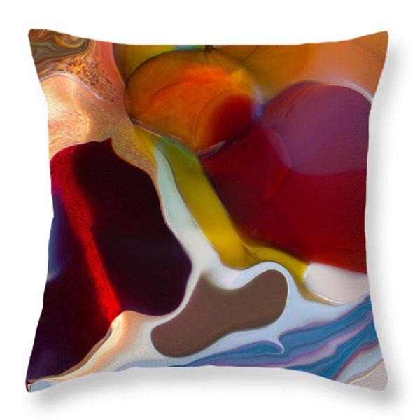 Stoned Throw Pillow by Omaste Witkowski