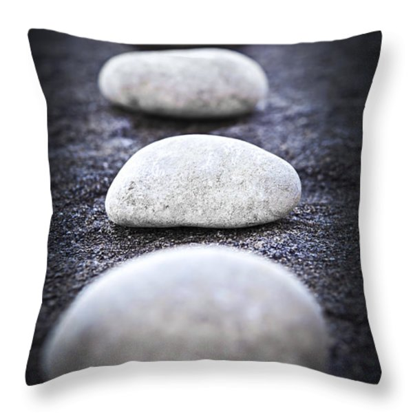Stones Throw Pillow by Elena Elisseeva