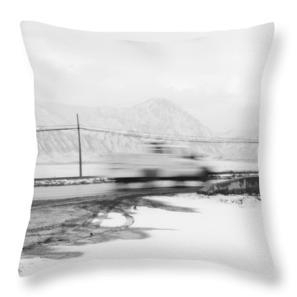 STOP - IN THE NAME OF LOVE Throw Pillow by Theresa Tahara