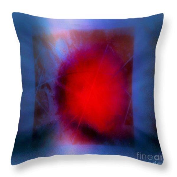 Storm 2 Throw Pillow by John Krakora