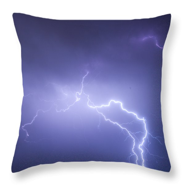 Storm Chase Six Twenty Eight Thirteen Throw Pillow by James BO  Insogna