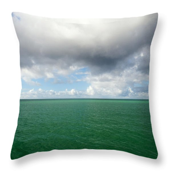 Storm clouds gathering Throw Pillow by Fabrizio Troiani