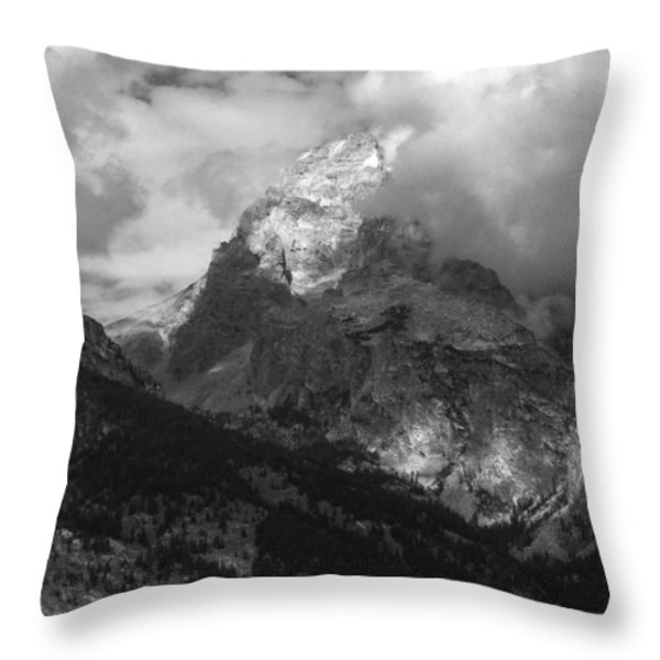 Storm Coming Throw Pillow by Raymond Salani III