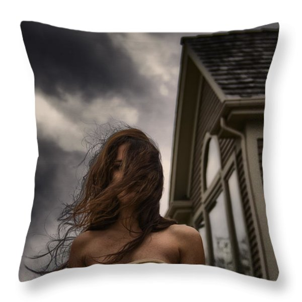 Storm Throw Pillow by Margie Hurwich