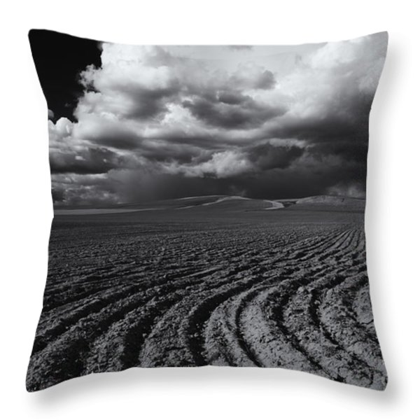 Storm Path Throw Pillow by Mike  Dawson