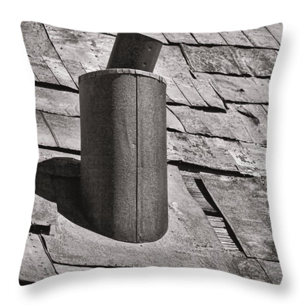 Stove Pipe Throw Pillow by Kelley King