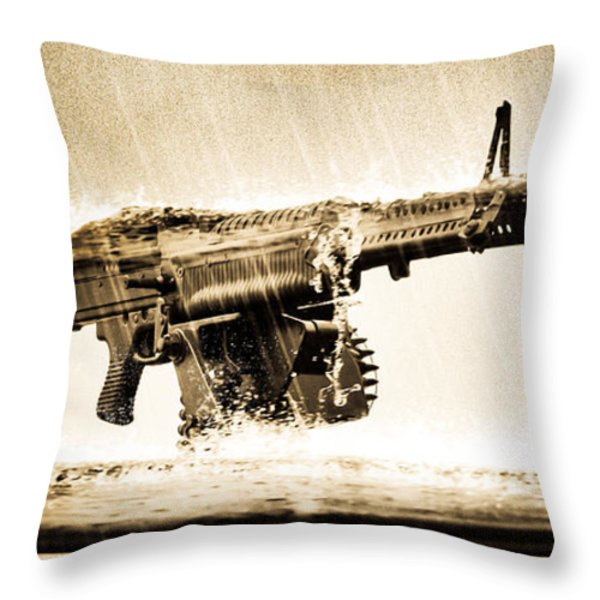 Strange Days Throw Pillow by Bob Orsillo