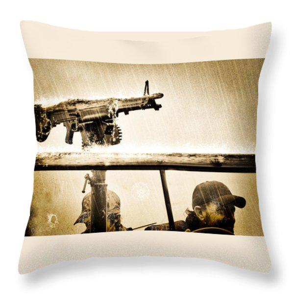 Strange Days Throw Pillow by Bob Orsillo