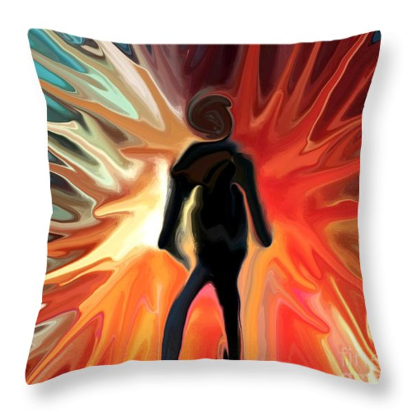 Stranger Throw Pillow by Chris Butler