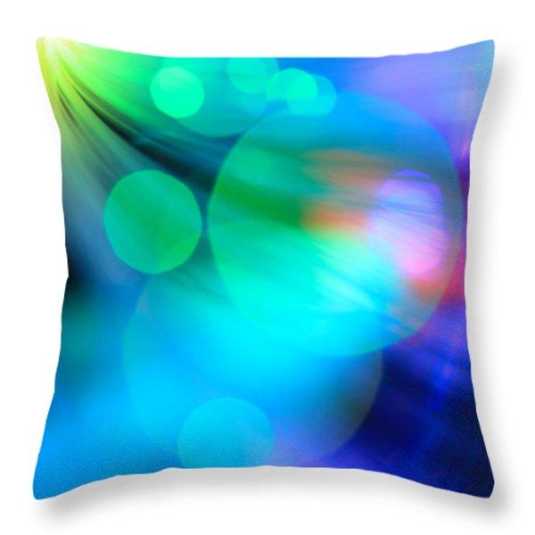 Strangers In The Night Throw Pillow by Dazzle Zazz