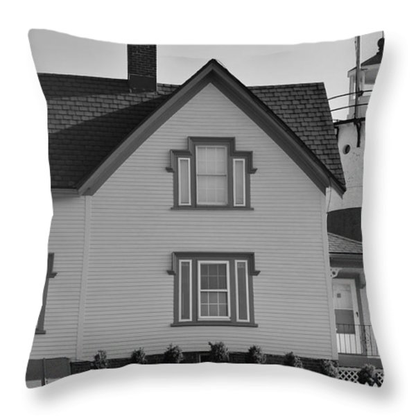 Stratford Point Throw Pillow by Catherine Reusch  Daley