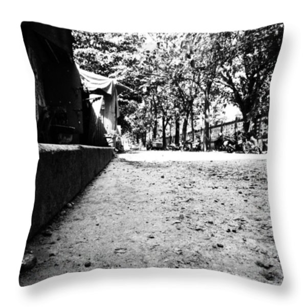 Street Level Throw Pillow by Justin Woodhouse