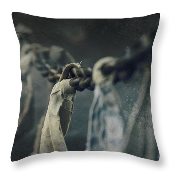 Strength Throw Pillow by Sharon Mau