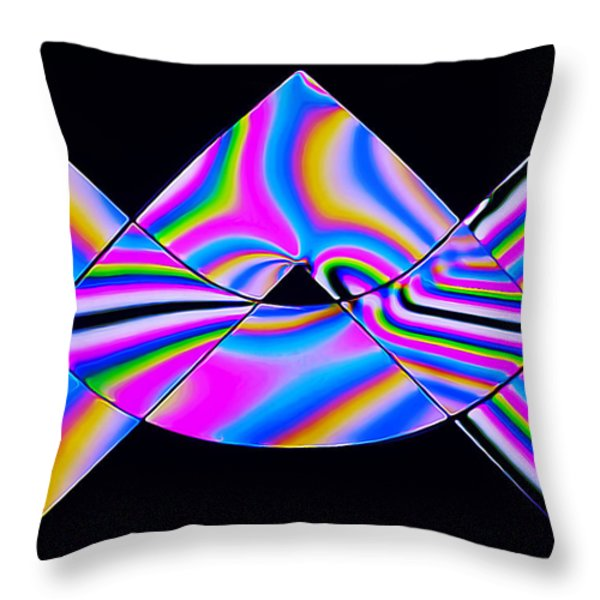 Stress Test 1 Throw Pillow by Bill Caldwell -        ABeautifulSky Photography