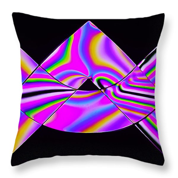 Stress Test 2 Throw Pillow by Bill Caldwell -        ABeautifulSky Photography