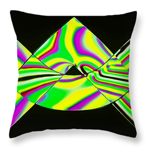 Stress Test 3 Throw Pillow by Bill Caldwell -        ABeautifulSky Photography