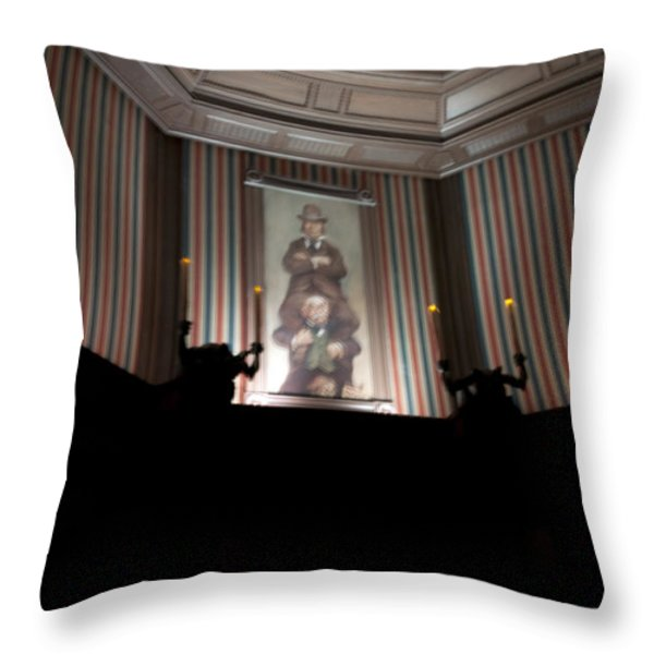 Stretched Throw Pillow by Ryan Crane