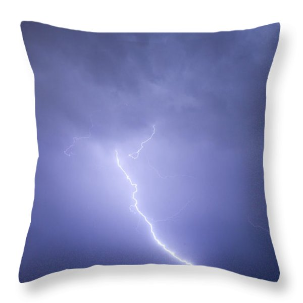 Striking Distance Throw Pillow by James BO  Insogna