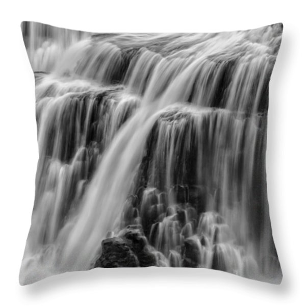 Strong Waters Throw Pillow by Jon Glaser