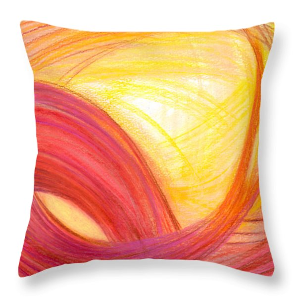 Sublime Design Throw Pillow by Kelly K H B