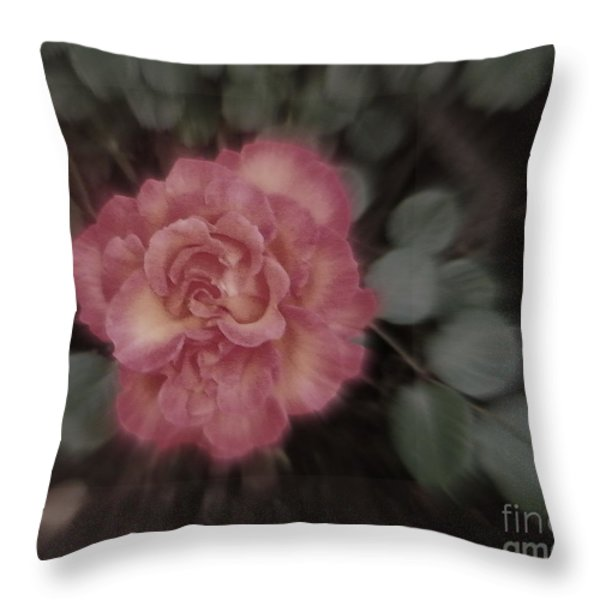 Subliminal Throw Pillow by Bobbee Rickard