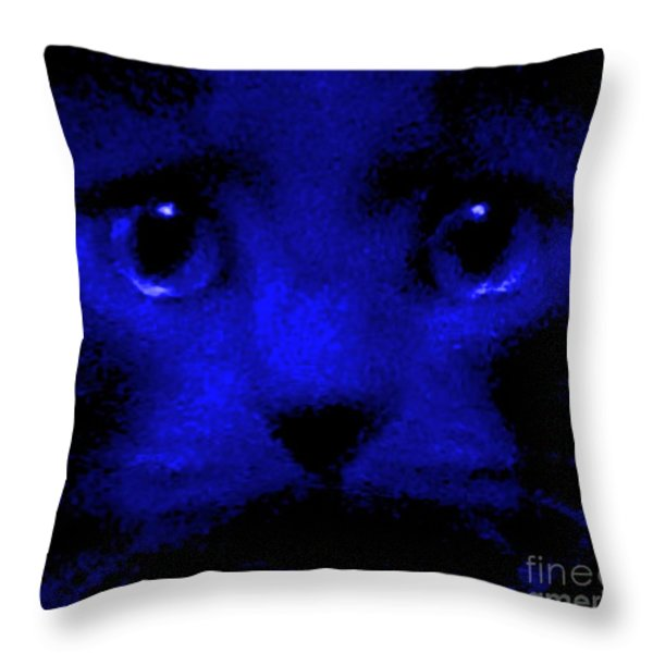 Subliminal Wake Up Call Throw Pillow by Elizabeth McTaggart
