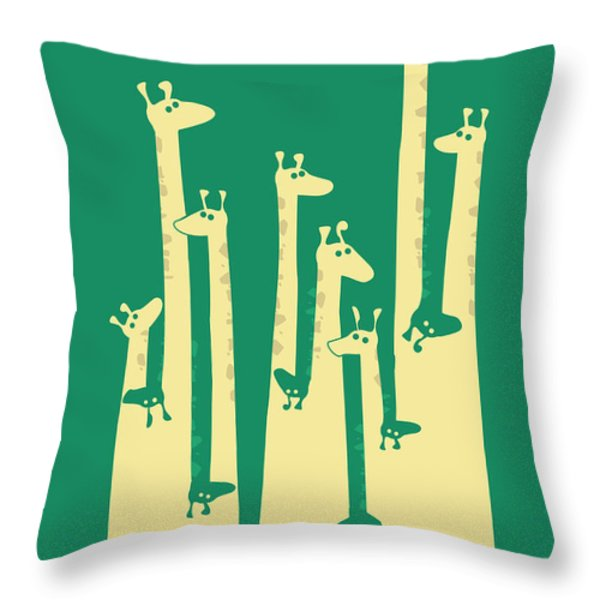 Such a great height Throw Pillow by Budi Kwan