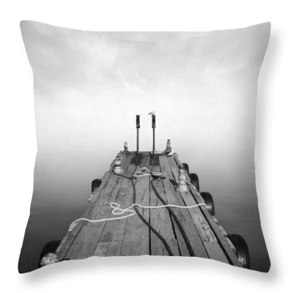 Sueno Throw Pillow by Taylan Soyturk