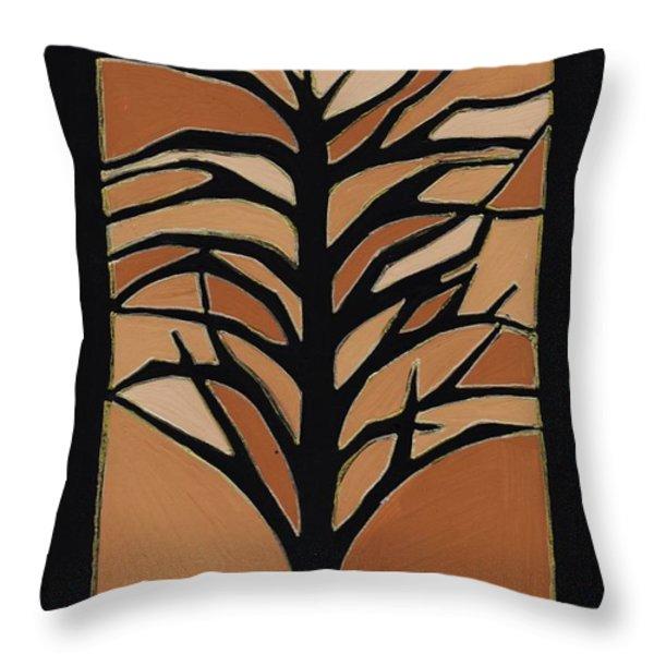 Sugar Maple Throw Pillow by Barbara St Jean