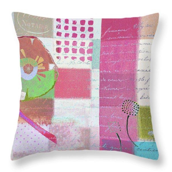 Summer 2014 - J088097112mci01 Throw Pillow by Variance Collections