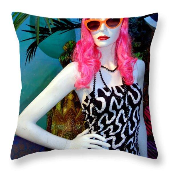 Summer Chic Throw Pillow by Ed Weidman
