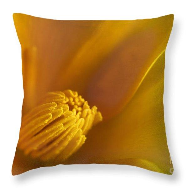 summer dreams Throw Pillow by Elena Nosyreva