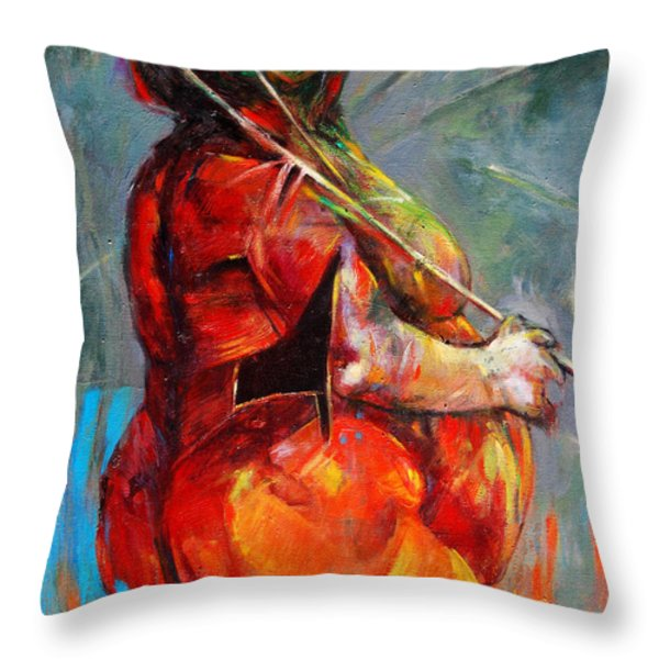 Summer Fantasy Throw Pillow by Michal Kwarciak