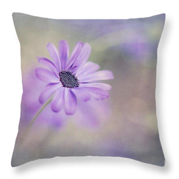 Summer Garden Throw Pillow by Priska Wettstein