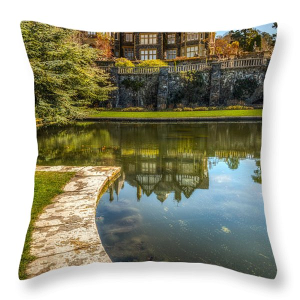 Summer House Throw Pillow by Adrian Evans