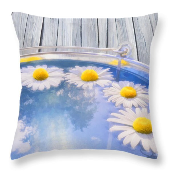 Summer Memories Throw Pillow by Veikko Suikkanen
