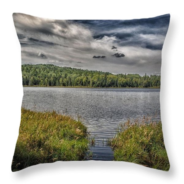 Summer Waters 2 Throw Pillow by Todd and candice Dailey
