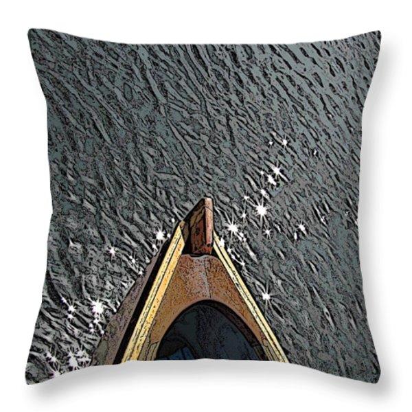 Summertime Serenity Throw Pillow by Tim Allen