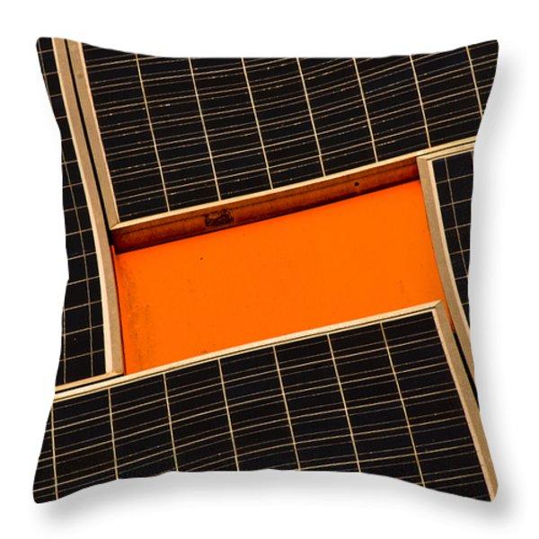 Sun Worshiper Throw Pillow by Christi Kraft