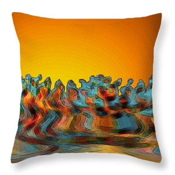 Sundance Throw Pillow by Ben and Raisa Gertsberg