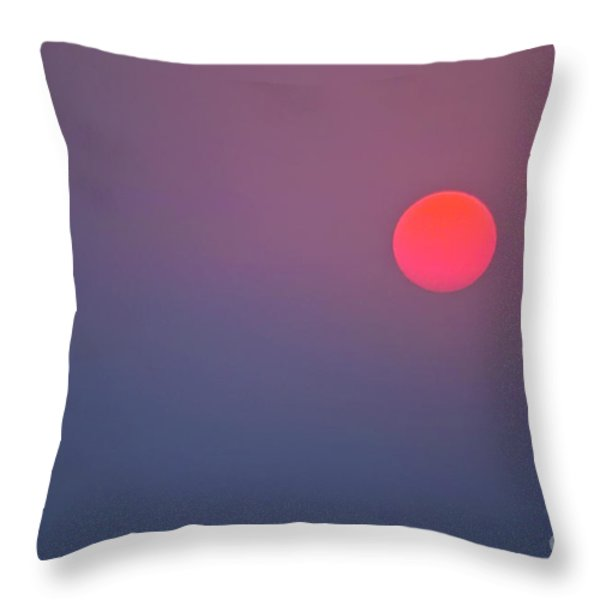 Sundown Throw Pillow by Heiko Koehrer-Wagner