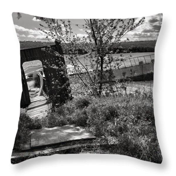Sunken Dreams Throw Pillow by Jason Politte