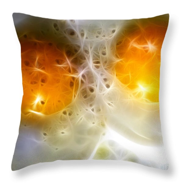 Sunny Side Up Throw Pillow by Wingsdomain Art and Photography