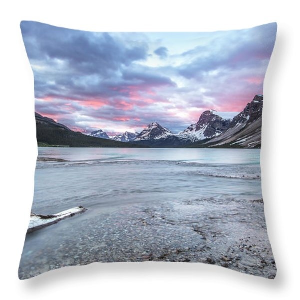 Sunrise Glow Throw Pillow by Jon Glaser