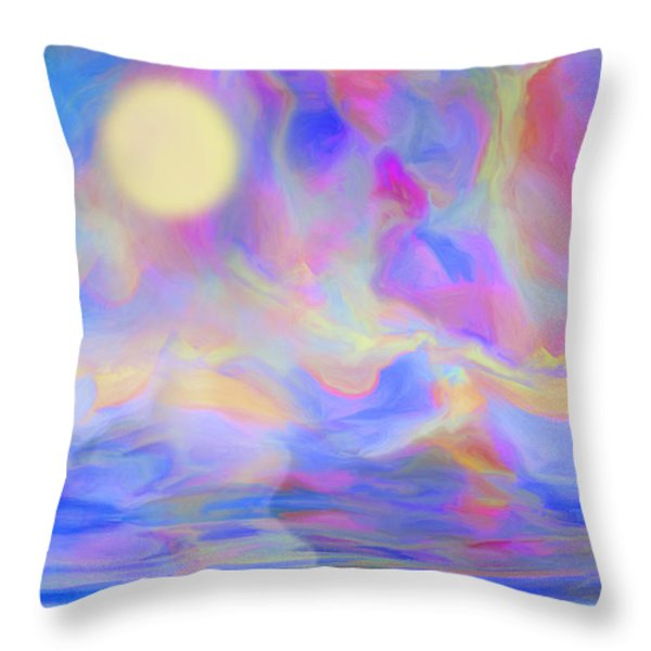 Sunrise Throw Pillow by Jack Zulli