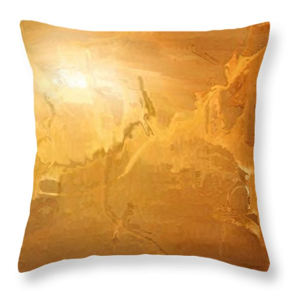 Sunrise Over The Dunes Throw Pillow by Kume Bryant